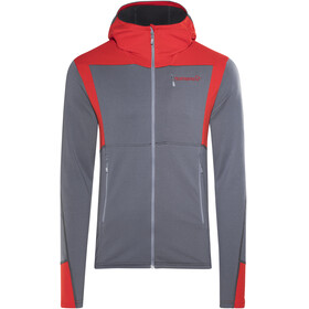 Norrøna Falketind Warm1 Jacket Men grey/red